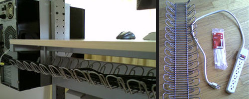cordless workspace