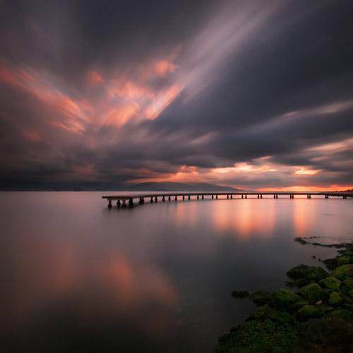 pier-in-lake