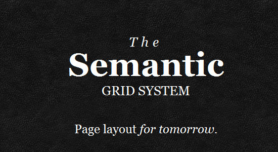 Semantic Grid System