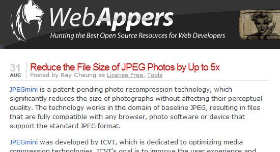smaller JPEG