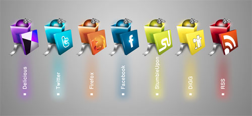 social-gift-icons