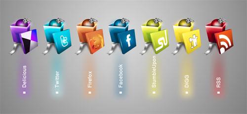 social-gift-icons